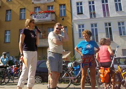 BISS Mitglieder bei der Tour de Natur 2009